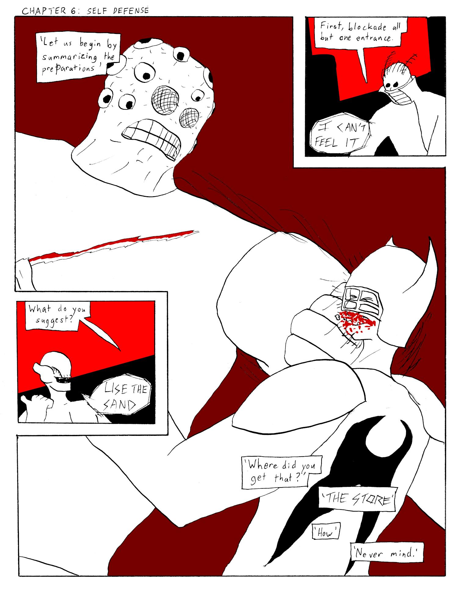 Chapter 6: Self Defense